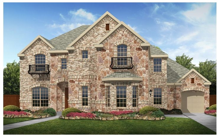 Stanford - Turnberry at Trophy Club: Trophy Club, TX - Standard Pacific Homes