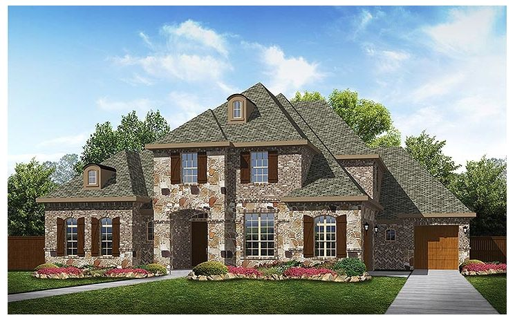 Shenandoah - Turnberry at Trophy Club: Trophy Club, TX - Standard Pacific Homes