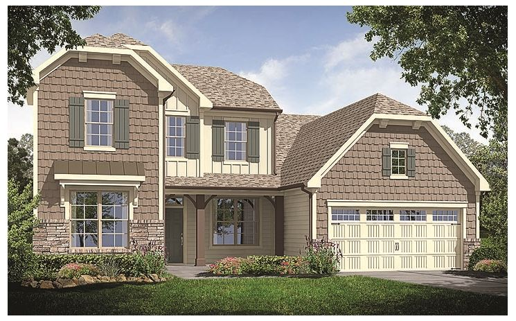 Marconi - Salem Village Estates: Apex, NC - Standard Pacific Homes