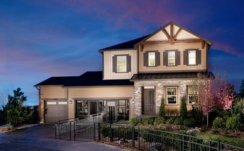 Kings Ridge Pointe by Standard Pacific Homes in Denver Colorado