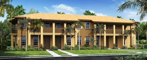 Cobblestone - The Courtyards by Standard Pacific Homes in Broward County-Ft. Lauderdale Florida