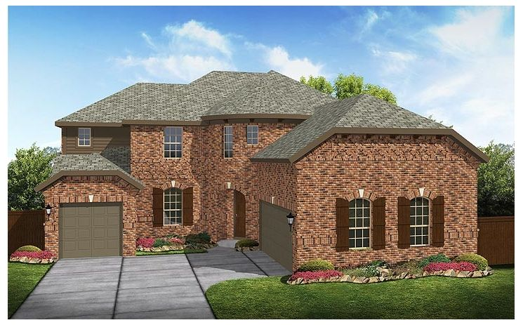 Salerno - Lakehill: Rowlett, TX - Standard Pacific Homes