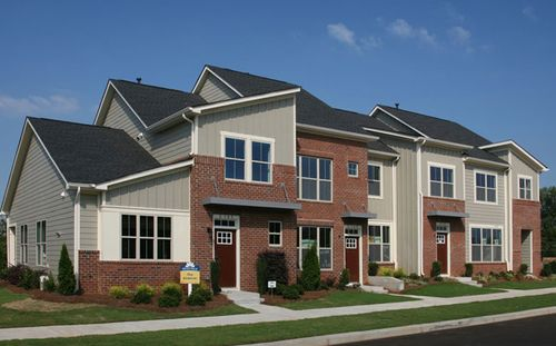 Brightwalk Village Collection Townhomes by Standard Pacific Homes in Charlotte North Carolina