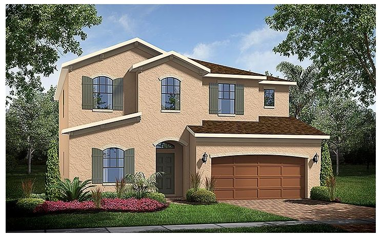 Somerset - Shingle Creek Reserve at The Oaks: Kissimmee, FL - Standard Pacific Homes
