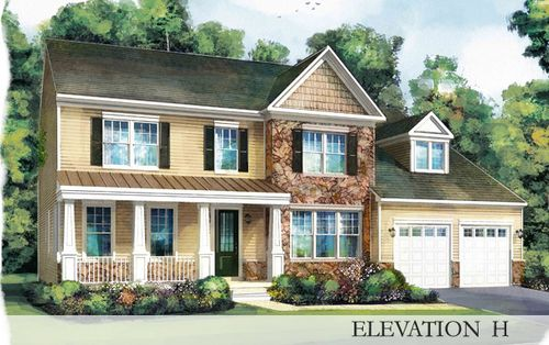 Glenmore by Stanley Martin Homes in Charlottesville Virginia
