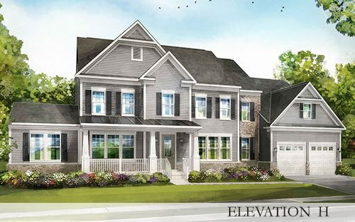 Whittington by Stanley Martin Homes in Charlottesville Virginia