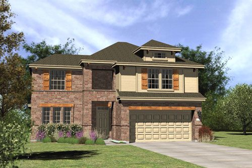 Greyrock Ridge at Circle C by Streetman Homes in Austin Texas