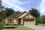 The McCoy II - Sendero Springs: Round Rock, TX - Streetman Homes