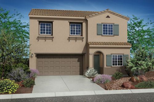 Claremont at Northern Terrace by Summit Homes in Las Vegas Nevada