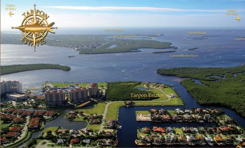 Tarpon Estates in Tarpon Point Marina by Tarpon Estates in Fort Myers Florida