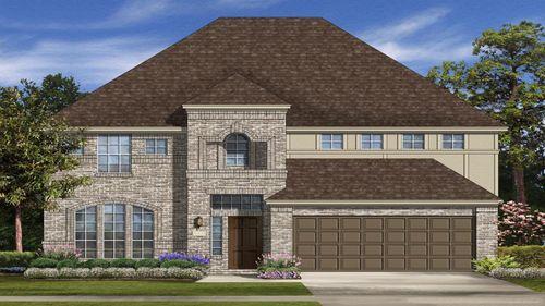 Park Creek 50s Villa Series by Taylor Morrison in Houston Texas