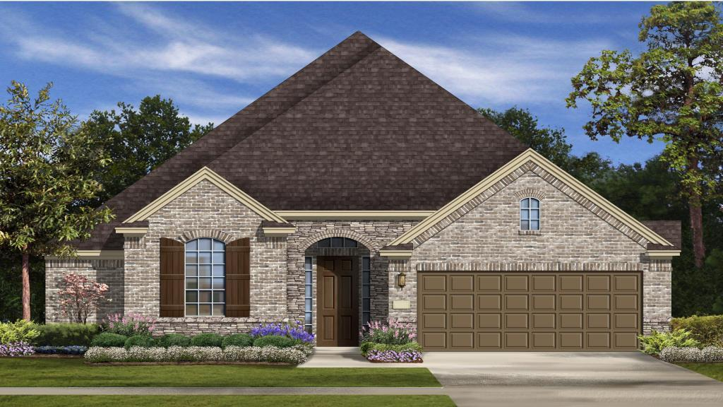 Augustine - Mar Bella Garden Homes - The Verandas: League City, TX - Taylor Morrison