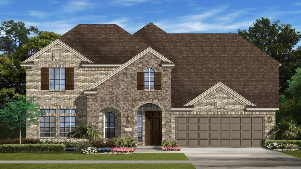 Trenton - Mar Bella Garden Homes - The Verandas: League City, TX - Taylor Morrison
