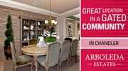 homes in Arboleda Estates Summit Collection by Taylor Morrison