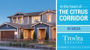 homes in Trovita Estates Summit Collection by Taylor Morrison