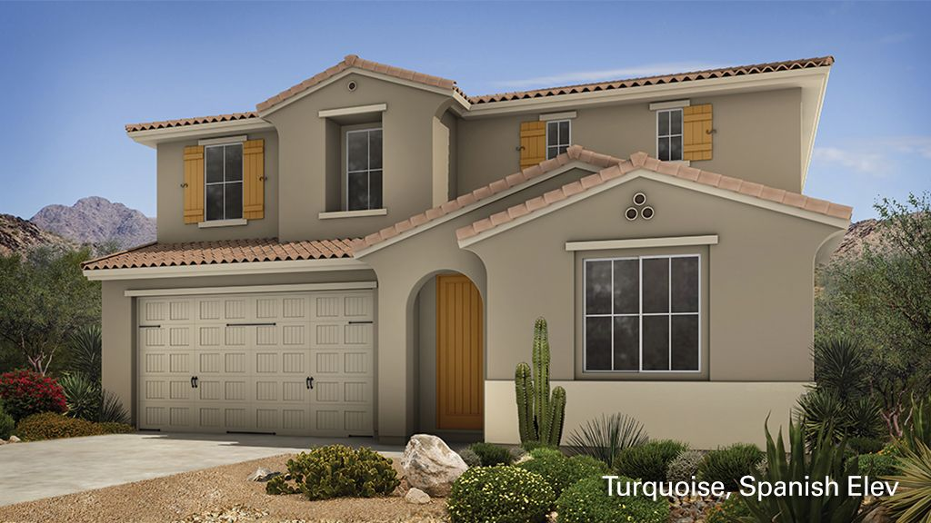 Turquoise - Sonoran Commons Encore Collection: Phoenix, AZ - Taylor Morrison