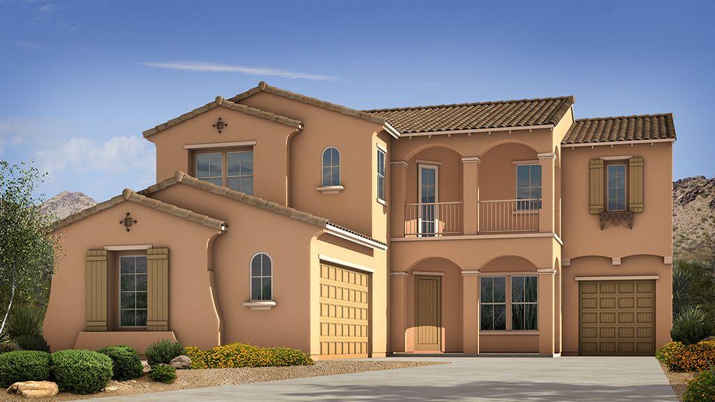 Single Family for Sale at Sanctuary At Desert Ridge Passage Collection - Hampton No Sales Office Phoenix, Arizona 85054 United States