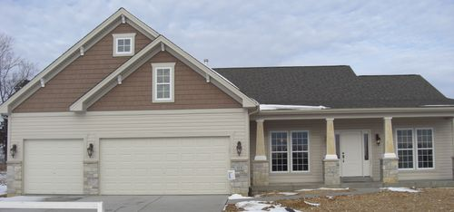 The Enclave of Sommers Pointe by Thomas & Suit Homes, LLC in St. Louis Illinois