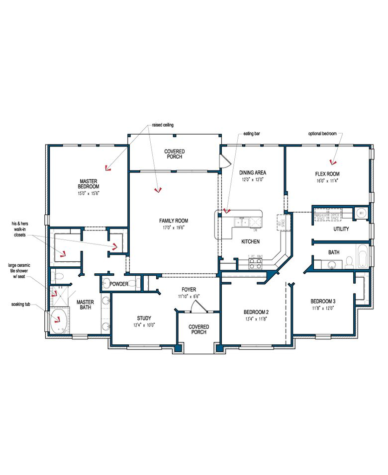 Magnolia Model At Tilson Homes Built On Your Lot In Katy