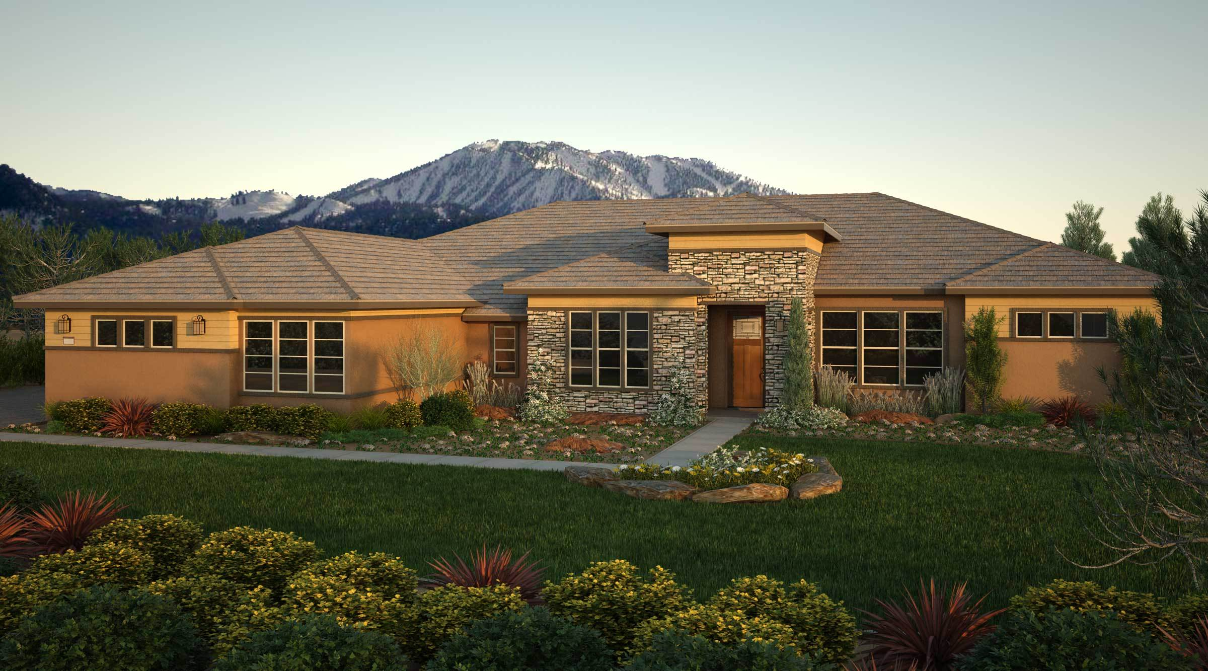 Le Bordeaux - Monte Vista: Reno, NV - Tim Lewis Communities