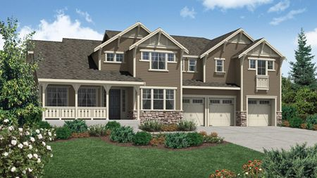 Putvin Craftsman - Belvedere at Bellevue: Bellevue, WA - Camwest - A Toll Brothers Co