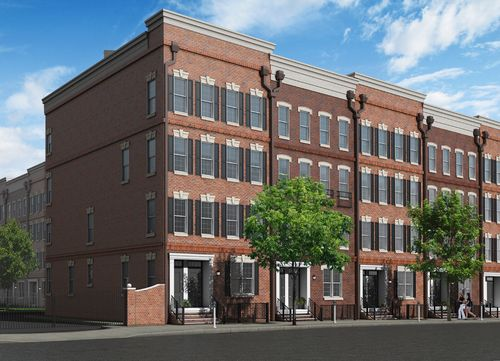 2400 South Townhomes by Toll Brothers in Philadelphia Pennsylvania