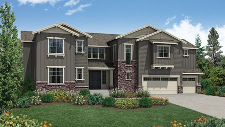 McCartney Craftsman - Belvedere at Bellevue: Bellevue, WA - Camwest - A Toll Brothers Co