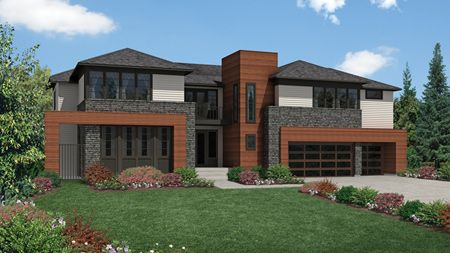 McCartney Northwest Contemporary - Belvedere at Bellevue: Bellevue, WA - Camwest - A Toll Brothers Co
