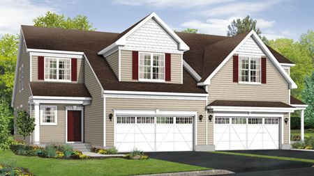 Hickory Elite - Newtown Woods - Townhome Collection: Newtown, CT - Toll Brothers