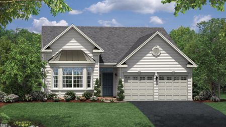 Regency at Bowes Creek Country Club Active Adult Single Family by Toll Brothers in Chicago Illinois