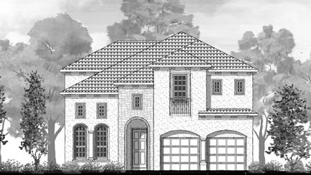 West Park Villas by Toll Brothers in Dallas Texas