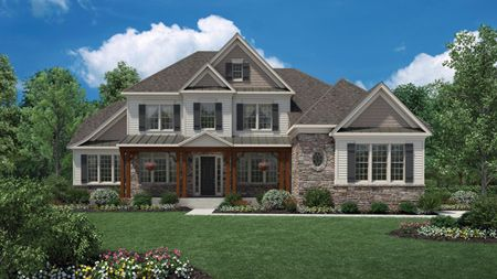 house for sale in Bromley Estates at Weddington by Toll Brothers