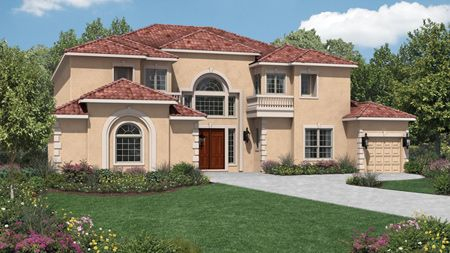 Preserve at Flower Mound by Toll Brothers in Dallas Texas