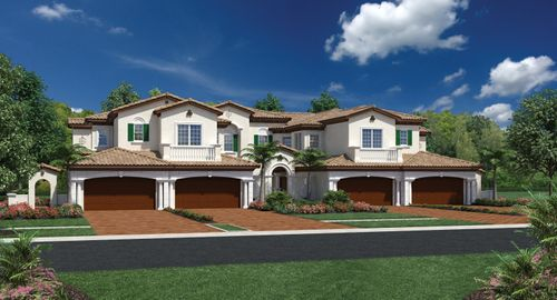 Jupiter Country Club - Carriage Homes by Toll Brothers in Martin-St. Lucie-Okeechobee Counties Florida