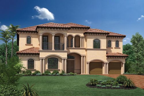 Parkland Golf and Country Club by Toll Brothers - Heritage C by Toll Brothers in Broward County-Ft. Lauderdale Florida