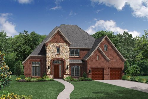 Canyon Falls by Toll Brothers in Dallas Texas