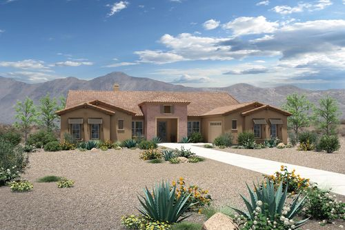 house for sale in Windgate Ranch Scottsdale - Mesquite Collection by Toll Brothers