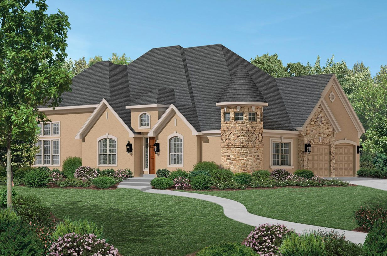 Toll Brothers West Park Villas Basilica 1092504 Plano
