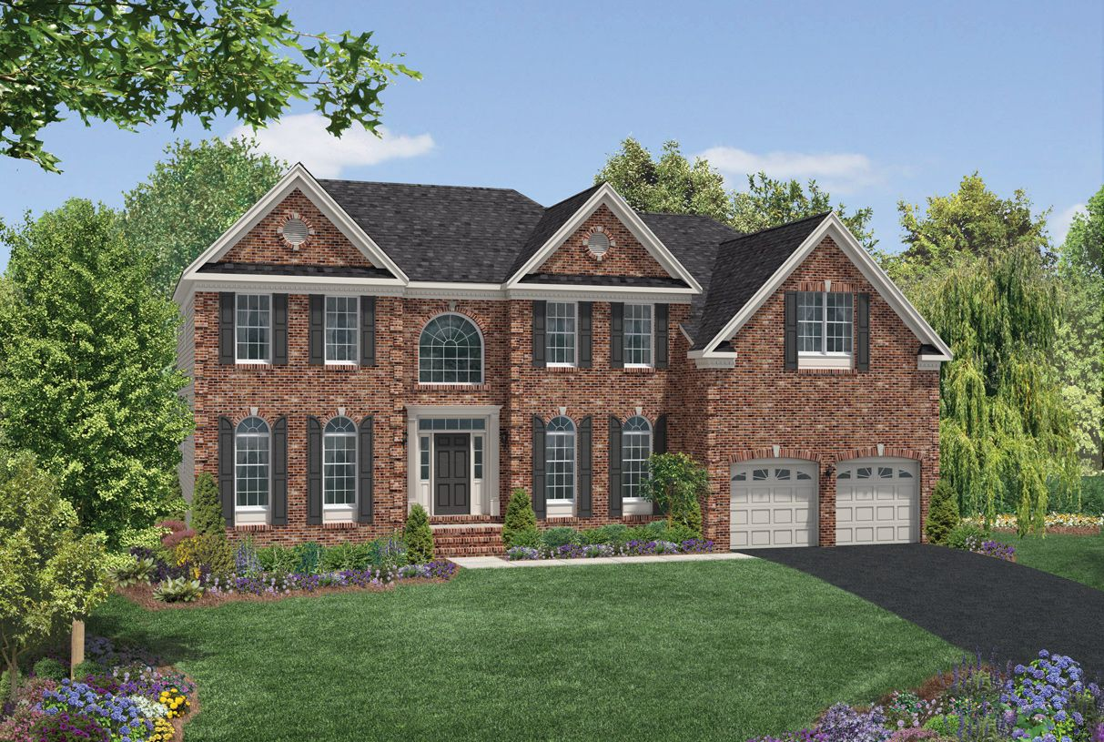 Toll brothers the estates at cedarday hampton 854734 for Modern homes for sale in maryland