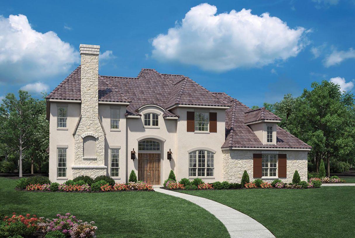 Ranch Cinco Ranch Ironwood Estates Vinton 1018101 Katy Tx New Home For