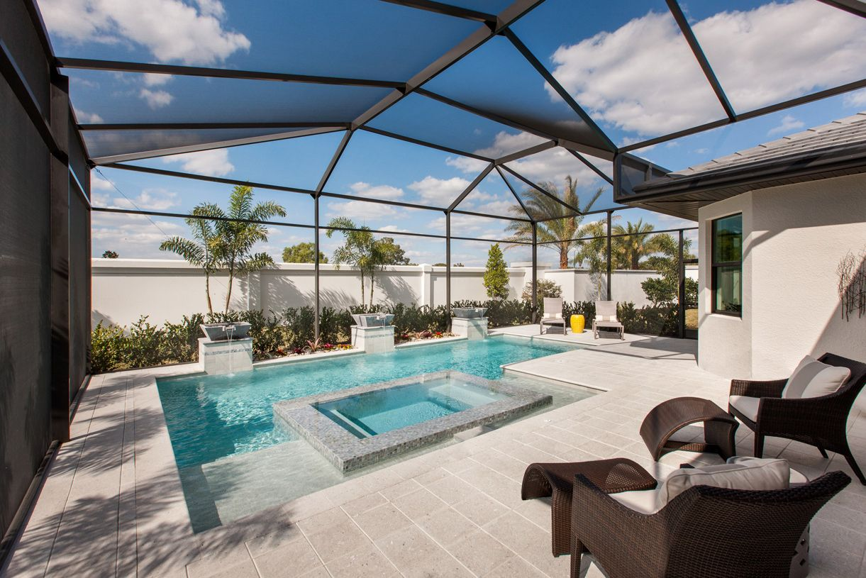 Palazzo at naples new homes in naples fl by toll brothers for Pool design florida