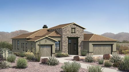 Windgate Ranch Scottsdale - Cottonwood Collection by Toll Brothers in Phoenix-Mesa Arizona