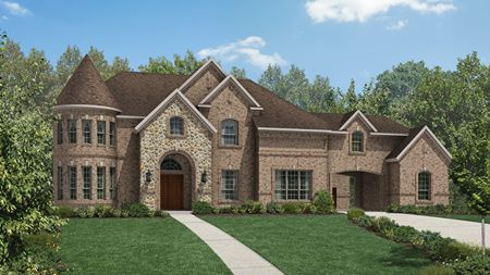 Vallagio Manor - Preserve at Flower Mound: Flower Mound, TX - Toll Brothers