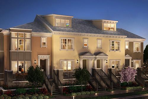 Canterbury at Bay Meadows by TRI Pointe Homes in San Francisco California
