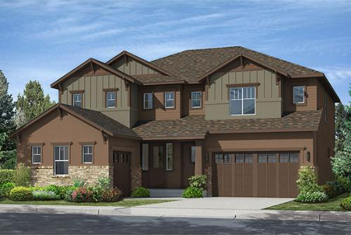 Premier Collection at Leyden Rock by TRI Pointe Homes in Denver Colorado