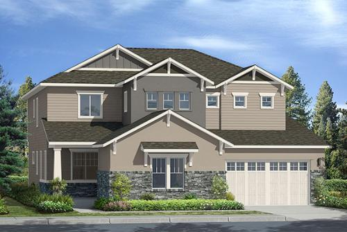 house for sale in Premier Collection - The Lakes at Centerra by TRI Pointe Homes