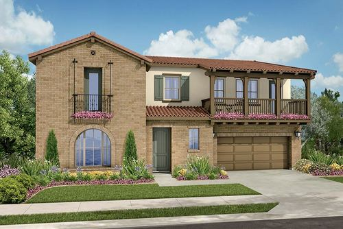 The Arbors at Sycamore Creek by Van Daele Homes in Orange County California