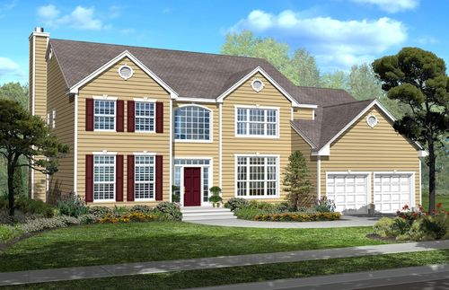 Whispering Hills Single Family Homes by Walters Homes in Ocean County New Jersey