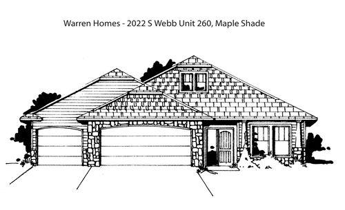 Maple Shade- Entry 100 by Warren Homes, L.L.C. in Wichita Kansas