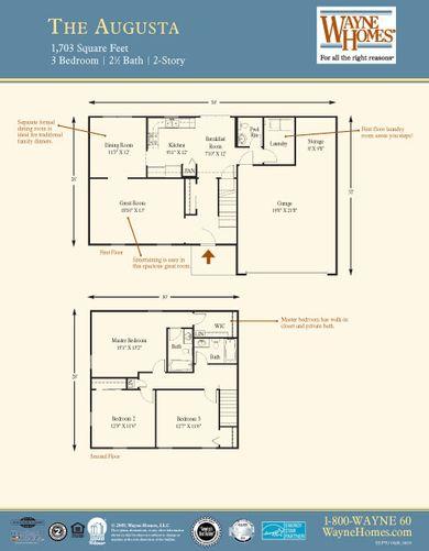 Augusta Floorplan